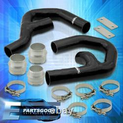 For 06-10 Volkswagen GTI MkV 2.0T Turbo Intercooler Piping Kit with Black Couplers