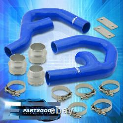 For 06-10 Volkswagen GTI MkV 2.0T Turbo Intercooler Piping Kit with Blue Couplers