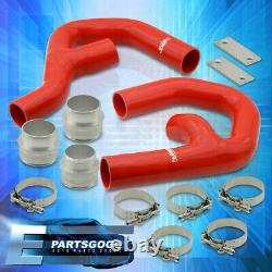 For 06-10 Volkswagen GTI MkV 2.0T Turbo Intercooler Piping Kit with Red Couplers