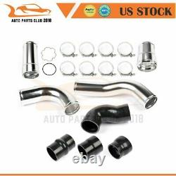 For 11-16 Ford Powerstroke 6.7 Diesel Hot Cold Side Intercooler Pipe T-Clamp Kit