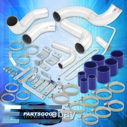 For 93-97 Mazda RX7 FD 13B Bolt-On Turbo Intercooler Piping Kit + Clamps Coupler
