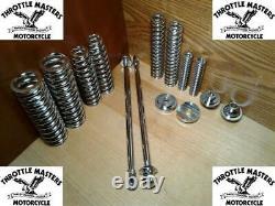 Fork Spring + Rod Kit for Custom Springer Fabricator DIY Harley, Chopper Bobber