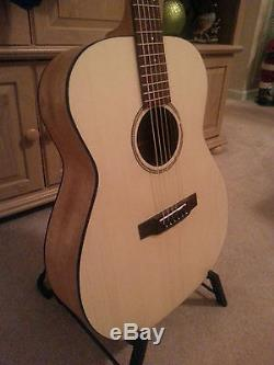 Guitar Kit Acoustic OM- DIY Handcraft Custom Koa and Spruce top. All Solid Wood