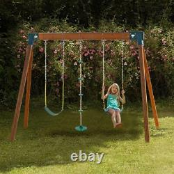 Joymor DIY Custom Backyard Kids Play Set Hardware Swing Kits Outdoor Swing Seat