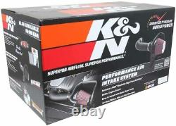 K&N 57-3070 Cold Air Induction Kit For 2009-2014 Chevy/GMC/Cadillac New USA