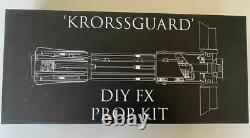 KRORSSGUARD KR DIY FX Prop Kit Kylo Ren Custom Lightsaber Set New, unused