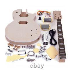LP ST Electric Guitar DIY Kit Maple Neck Rosewood Fingerboard & Accessories M0B7