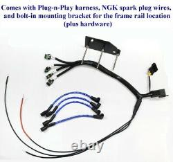 MAZDA RX-7 93-5 Plug Play Ignition Harness + Bracket IGN1A AEM Smart Coil FRAME