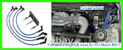 MAZDA RX-7 93+ Ignition Bracket for IGN1A AEM Smart Coil + NGK Plug Wires CRUISE