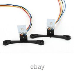 Mini 3 inch H1 Bi-Xenon HID Projector Lens RGB LED Kit For Custom Headlight DIY
