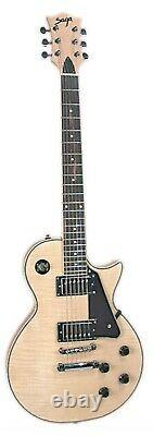 NEW! Saga LC-10 Electric Guitar Kit! Custom Builder Luthier DIY Assembly Project