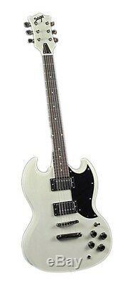 NEW! Saga SG-10 Electric Guitar Kit Gibson Style Custom Builder Luthier DIY