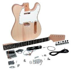 NEW Saga TC-10 Electric Guitar Kit Custom Builder Luthier DIY Assembly Project