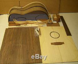 OM Acoustic GUITAR KIT Custom Luthier DIY. Indian rosewood B/S ALL SOLID WOOD