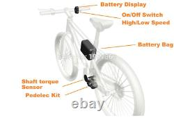 Pedelec DIY KIT (booster+controller without battery) Change your bicycle into e