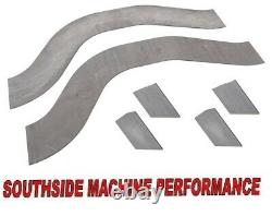 SSM Performance fits all 78-88 GM G-Body Rear Frame Notching Kit Weld-In DIY