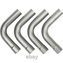 Speedway 2.5 Mild Steel DIY Custom Mandrel Exhaust Pipe Bend Kit with Mufflers