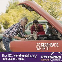 Speedway Motors GM Chevy DIY Weld-up Custom LS Header Kit, 1-3/4 Round Port