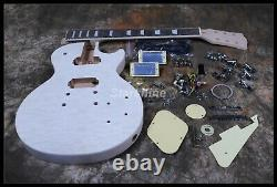 Starshine Electric Guitar Kits DK-ULP Quilted Maple Top Chrome Hardware DIY Guit