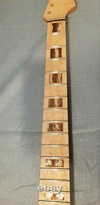 Strat custom guitar kit, DIY, Warmoth custom body, custom flame maple neck