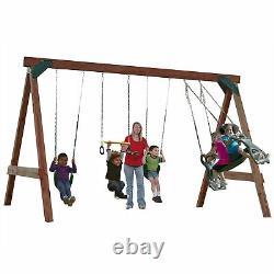 Swing-N-Slide Scout Swing Set DIY Hardware Kit (Wood Not Included)