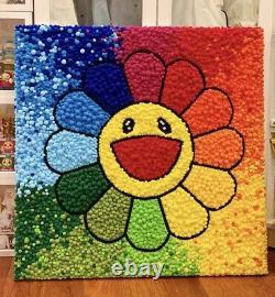 Takashi Murakami flower art paint kit DIY complete art kit complete pop art V2