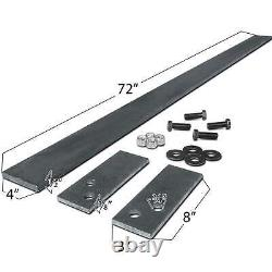 Titan Attachments 72 Custom Toothbar Kit with7 23TF Teeth & Shanks Skid Steer DIY