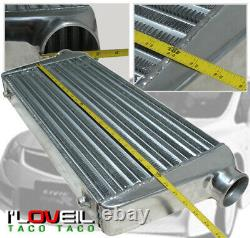 Turbo Fmic Intercooler 2.5 Piping Kit BOV Flange For Honda Civic Ek/Eg B16 Swap