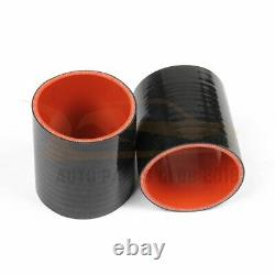Turbo Intercooler Pipe Silicone Hose T-Clamp Kit Set Fits Integra Civic 92-00