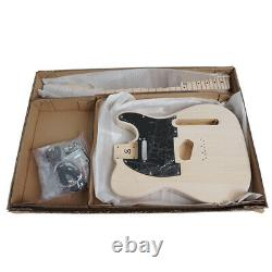 Unfinished Custom DIY TL Style Basswood Electric Guitar Kits with All Hardwares