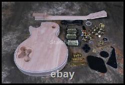 Unfinished Electric Guitar Kits DK-ULP5 3pcs Humbuckers Custom DIY