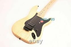Unfinished Electric Guitar Kits basswood Body Canada Maple DIY Guitar