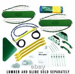 Wrangler Custom DIY 12 Piece Swing Set Hardware Kit